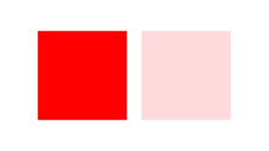 彩度の説明画像