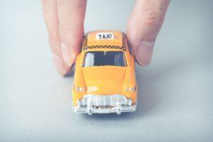タクシーミニカーの画像