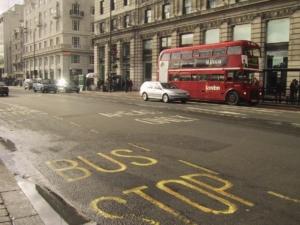 ロンドンの道路